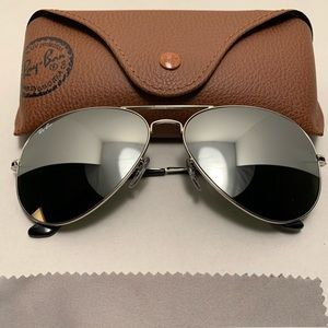 Ray-Ban Aviator Sunglasses RB3026 62-14mm W3277